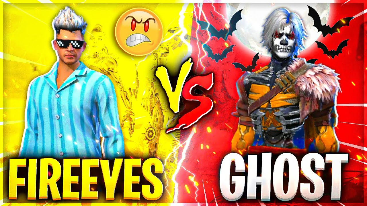 Real Ghost Challenged me😱 & Then This Happened😂 Best Clash Battle must watch - Garena Free Fire