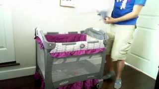 [hd] Graco Travel Lite Crib With Stages Video Review
