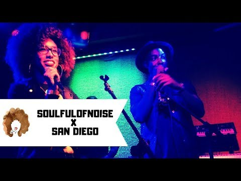 Soul Music Concert in San Diego w/ SoulfulofNoise