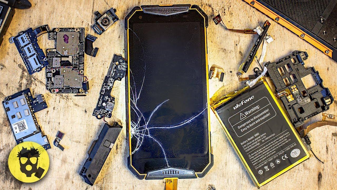 Смартфон Обзор |  Какой ПРЕДЕЛ ПРОЧНОСТИ Защищенного Смартфона?