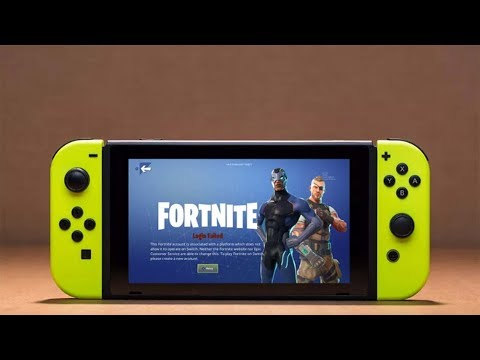 Fortnite Battle Royale - No Skins For Nintendo Switch Because Of Sony