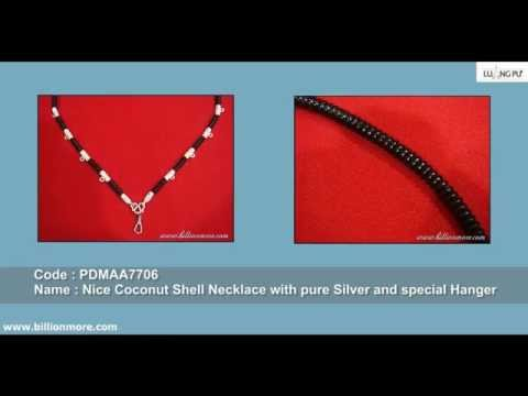 Coconut Shell Necklace Collection