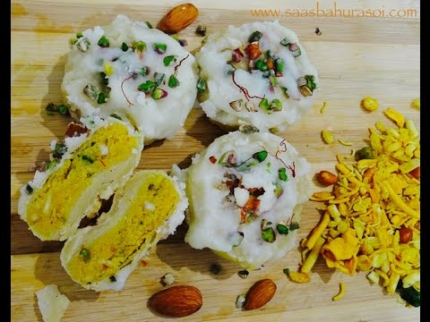 Surti Ghari Recipe  Indian Sweets  Chandi Padvo Sepcial  SaasBahuRasoi