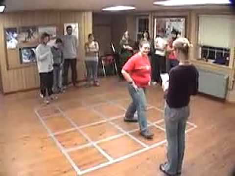 Maze Duct Tape Teambuilding Game Youtube