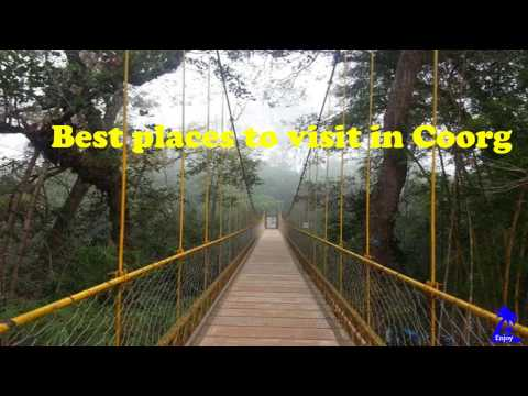 Best places to visit in Coorg