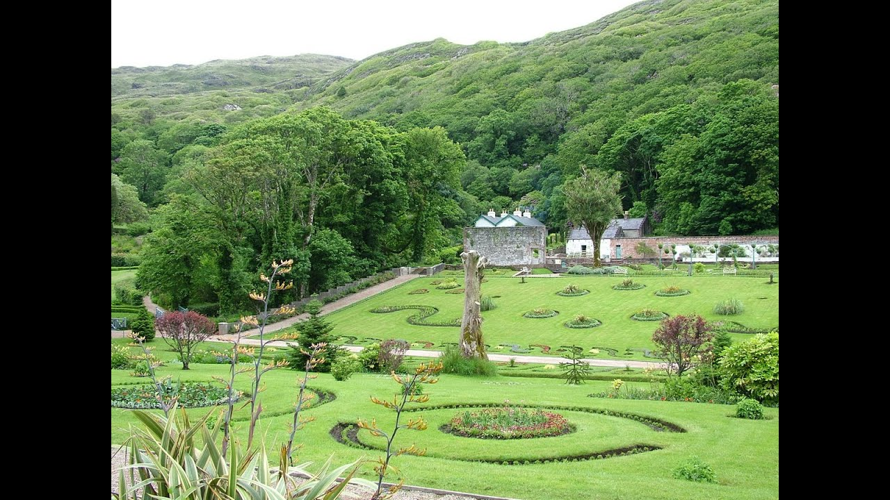 Walled Kitchen Gardens Kylemore Abbeys Victorian Walled Gardens Youtube