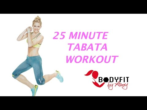 25 Minute Tabata workout