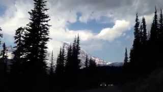 Mount Rainer drive at Sunrise Point
