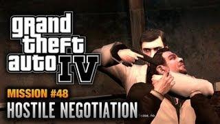 GTA 4 - Mission #48 - Hostile Negotiation (1080p)