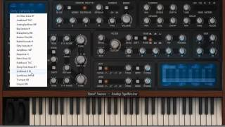 Tone 2 Saurus analog modeled synth plugin review