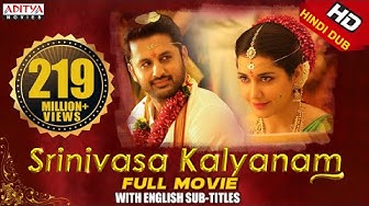 Srinivasa Kalyanam New Released Full HD Hindi Dubbed Movie 2019| Nithiin,Rashi khanna,Nandita swetha