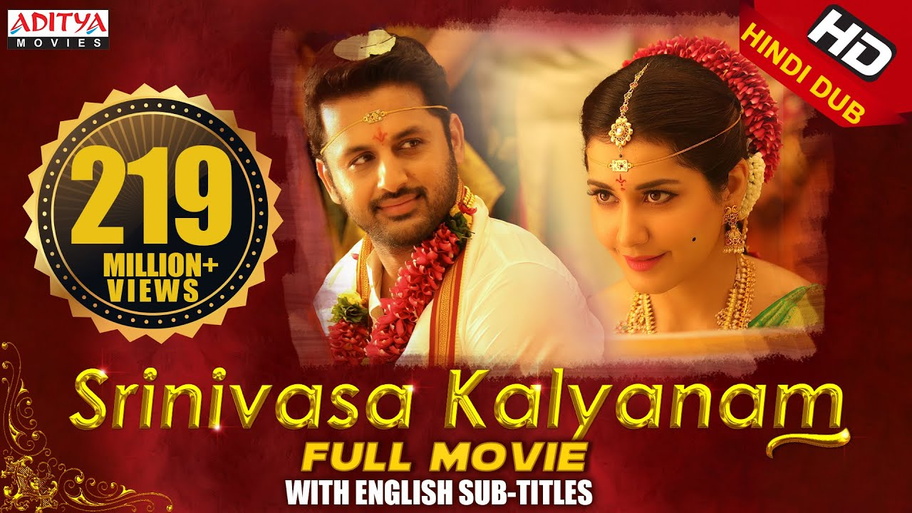 Download Srinivasa Kalyanam New Released Full HD Hindi Dubbed Movie 2019| Nithiin,Rashi khanna,Nandita swetha