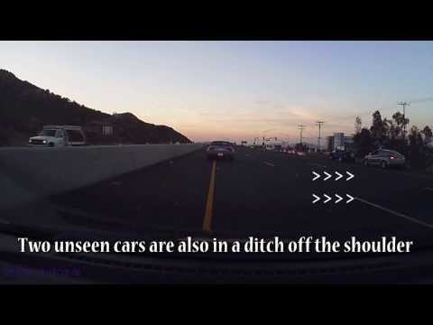 I-215 freeway accident aftermath 08/19/2013