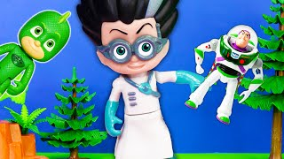 PJ Masks Gekko and Paw Patrol Find Bonnies Lost Toy Story Toys with Puppy Dog Pals