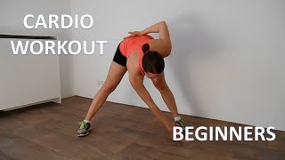 20 Minute Cardio Workout For Beginners – Lose Weight At Home With No Equipment