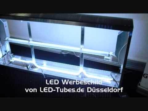 led umbau von neon werbeschild aussenreklame schild mit. Black Bedroom Furniture Sets. Home Design Ideas