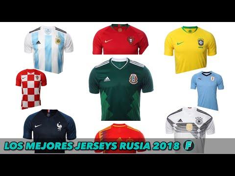 MEJORES JERSEYS RUSIA 2018 🔥