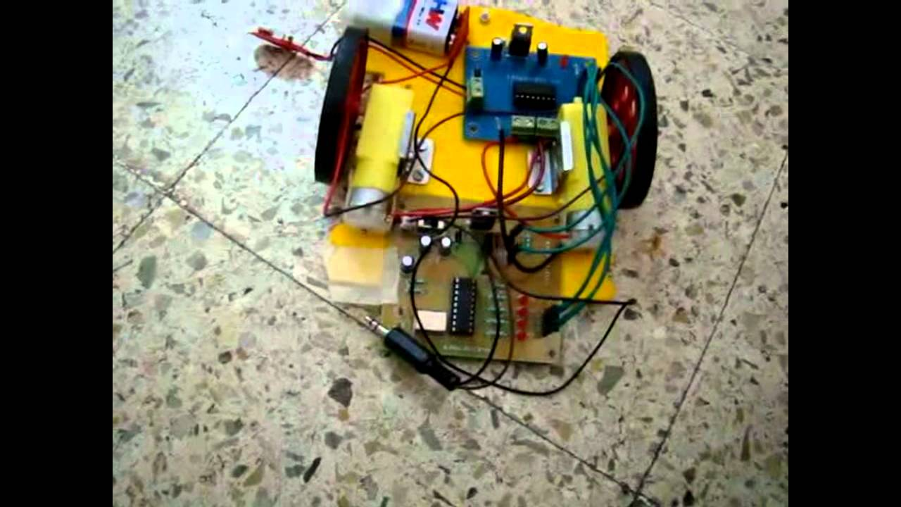 Mobile Controlled Car Using Dtmf Circuit Youtube Decoder Ic Working Electronic Circuits