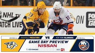 NHL 19 PS4. REGULAR SEASON 2018-2019: New York ISLANDERS VS Nashville PREDATORS. 10.13.2018. (NBCSN)
