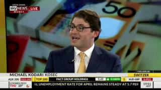Michael Kodari on SKY News Money with Peter Switzer 19th May