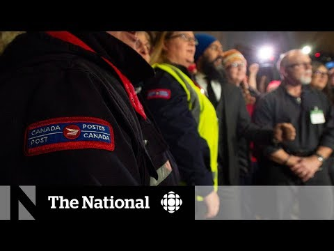 Unions Ramp Up Pressure To Block Back-to-work Bill For Canada Post Employees