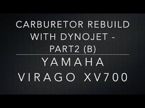 CARBURETOR REBUILD WITH DYNOJET - PART 2 (b)