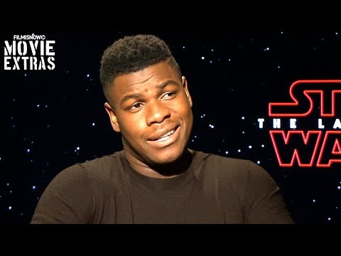 Download Youtube: Star Wars: The Last Jedi (2017) John Boyega talks about his experience making the movie