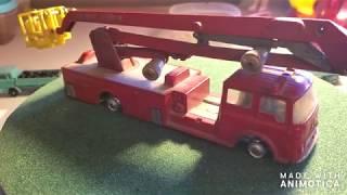 Corgi Major Simon Snorkel Fire Truck Resto