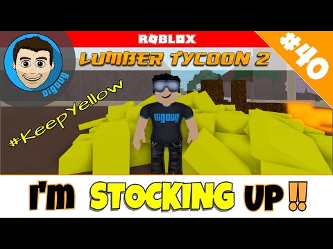 Roblox Lumber Tycoon 2 : Ep 40: So Much Yellow Wood!