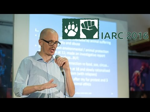 Jens Tuider - Putting outreach to young people on the animal advocacy agenda - IARC2016