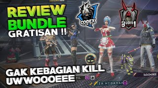 COBAIN BUNDLE GRATIS BARENG BUDI01 UWOEI & CODEX GAMING AUTO GAK KEBAGIAN KILL - FREE FIRE INDONESIA