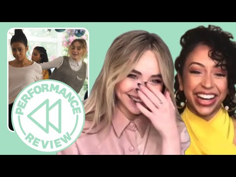 Sabrina Carpenter & Liza Koshy Dissect Their Big Freedia Dance in 'Work It'   Performance Review