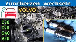 Zündkerzen wechseln beim Volvo 2.4 und 2.4i (C30/C70/S40/V50) - Motor: B5244S4/B5244S5/B5244S7