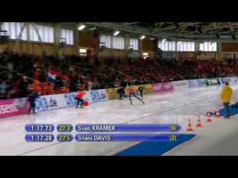 Shani  Davis vs Sven Kramer 1500 2008 WAR Berlin