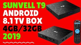 Sunvell T9 Android 8.1 TV Box - RK3328 - 4GB+32GB - OREO | 2019