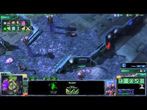 ACL Starcraft 2 Gameplay - Ripped vs Schmutt - Metalopolis