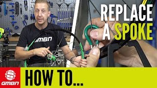 how to fix a loose spoke