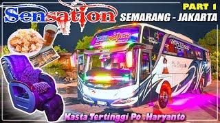 """Mencoba Naik Bus """"SUPER EKSEKUTIF"""" Milik Po.HARYANTO (HR 23 Sensation) Jepara - Jakarta"""