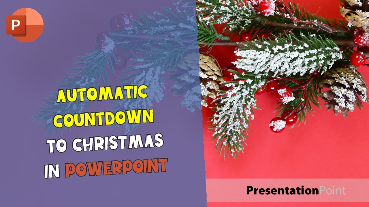Countdown to Christmas in PowerPoint • PresentationPoint