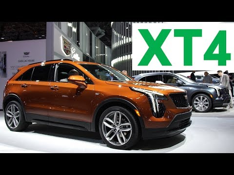 2018 New York Auto Show: 2019 Cadillac XT4 | Consumer Reports