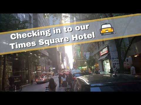 NYC Trip Day 1 | Travel Day, Checking In To Times Square Hotel, And NYC's Best Steakhouse!