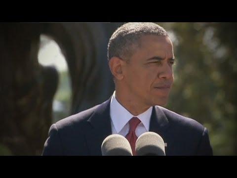 Barack Obama speaks at D-Day commemorations