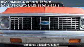 1972 Chevrolet C/K 10 Series CUSTOM DELUXE for sale in KNIGH