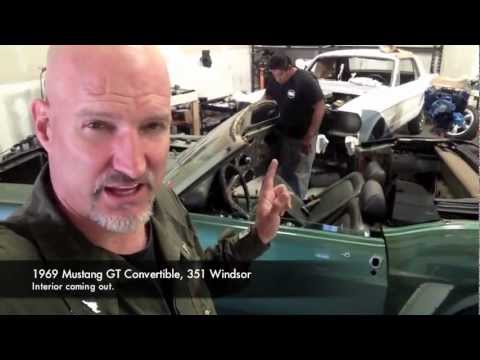 Dashboard Pad Removal And Seats Bob's 1969 Mustang GT - Day 47