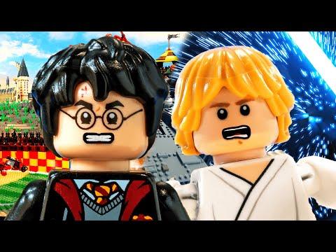 Harry Potter vs Luke Skywalker. Epic Rap Battles Of History