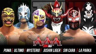 Download Video Triplemania 2K16: Sin Cara vs Rey Mysterio vs Ultimo Dragon vs Jushin Liger vs Puma vs La Parka MP3 3GP MP4