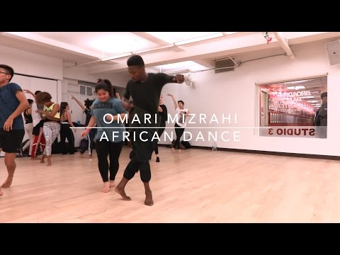 Omari Mizrahi | African Dance | #bdcnyc