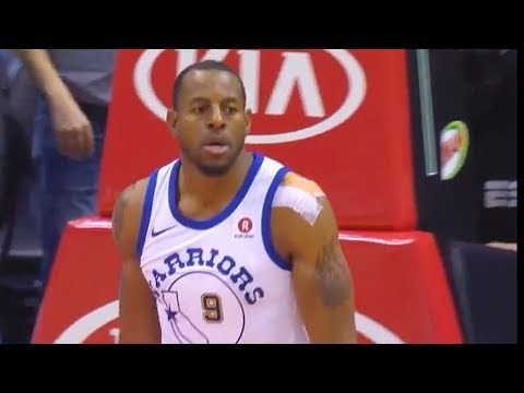 Andre Iguodala Game Winning Steal and Dunk vs Hawks! Warriors vs Hawks March 2, 2018