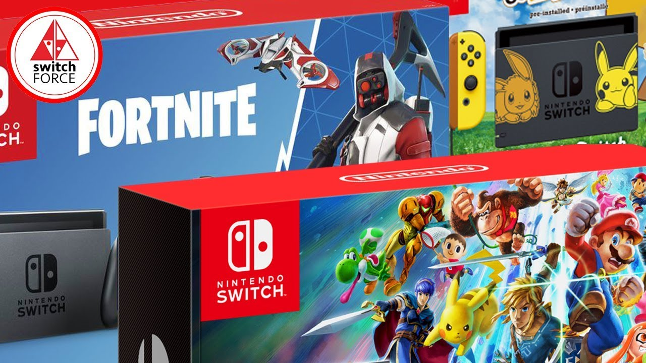 Best Switch Bundle 2018 New Fortnite Switch Bundle Pokemon Smash