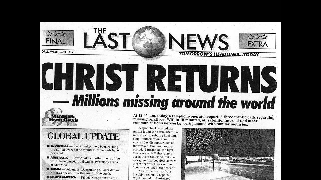 World Events Pointing to the Rapture and the Soon Return of Jesus